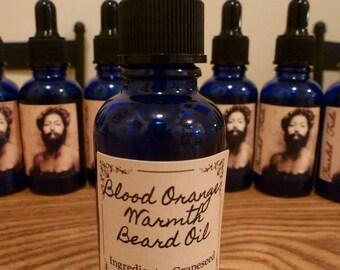 Blood Orange Warmth Beard Oil