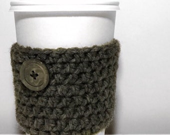 Handmade Crochet Coffee Cozies