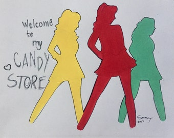 Heathers the Musical Color Print