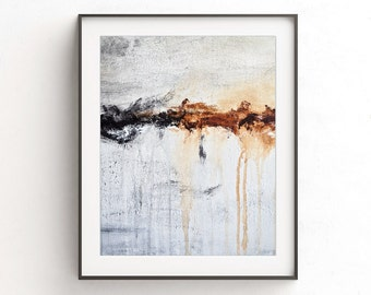 Print instant download abstract painting printable art wall decor modern design poster art contemporary artwork horizon