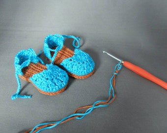 Baby espadrilles, baby boots, baby shoes, baby sandals, babyshower, gift for a girl, sandals girl, espadrilles girl