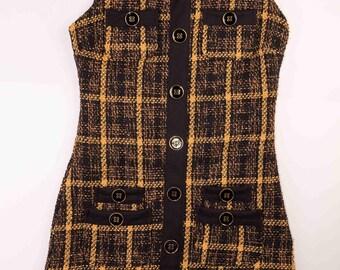Womans dress,Womans sarafan,Casual sarafan,Buckle sarafan,Lined sarafan,Size 8 UK