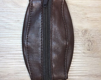 Wallet Leather Brown Double opening