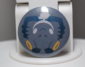 Roadhog Icon Pin - Overwatch Series - 1.5""