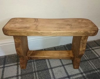 Farm House Entrance Bench hall way Rustic country