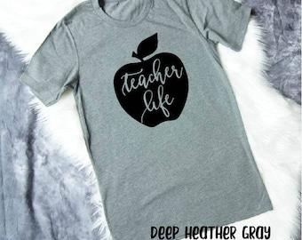 Teacher Shirts - Teacher Gifts - Teacher Appreciation Gift - Teacher T Shirts - Teacher Tshirts - Teacher Tee - Preschool Teacher Gift Idea