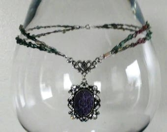 Victorian Floral Choker