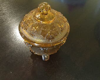 Beautiful brown antique cut glass bowl up to 40% off your order