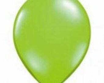 28cm Jewel Lime Latex balloon