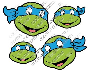 Teenage Mutant Ninja Turtle TMNT Leonardo svg dfx jpg jpeg eps layered cut cutting files cricut silhouette die cut decal vinyl