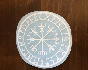 Nordic (Viking) Compass Decal