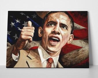 Barack Obama Limited Edition 24x36 Poster | Barack Obama Canvas