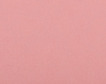 Felt - craft rose / pink 1 mm 40 x 45 cm