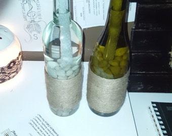 Wine Bottle Tiki