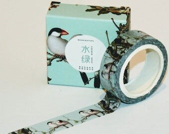 Traditional Chinese Pattern Washi Tape. Pretty tape. Craft tape.