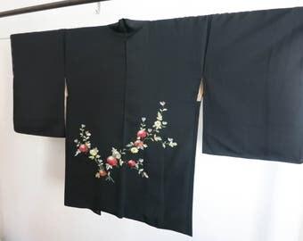Kimono haori from Japan stitched vintage kimono
