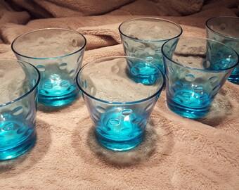 Vintage blue glasses