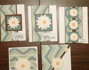 Note card set of five.