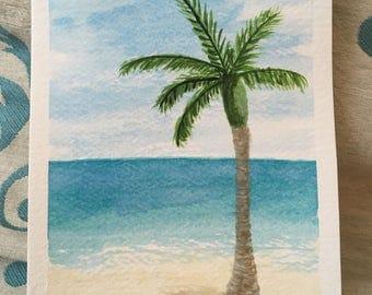 Royal Palm // Original Watercolor Painting