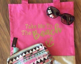 Take Me To The Beach Bag