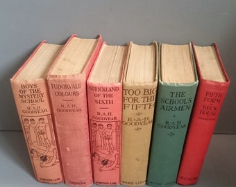 Six RAH Goodyear Vintage Novels including a First Edition