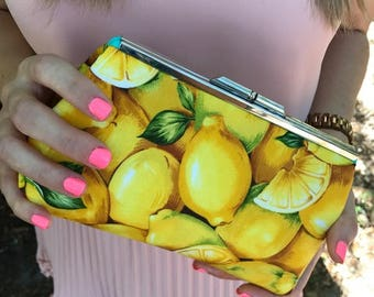 When life gives you lemons- Lemon Clutch - Fruitastic Collection