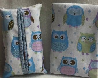 Tissue Holder - Owls (#015)