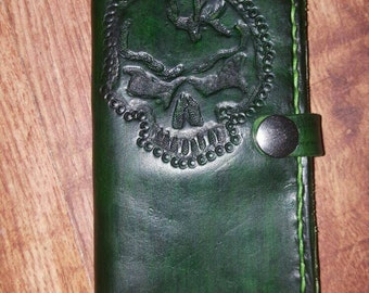 Real leather phone case