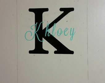 Wall Name Decals
