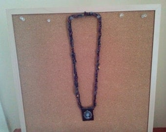 Steam Punk Woven Necklaces