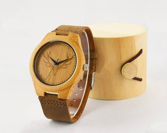WoodClock watch