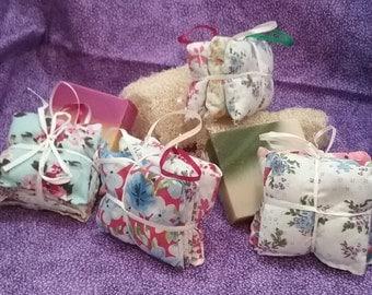Lavender Sachet Set, Lavender Drawer Sachet, Lavender Drier Sachet, Lavender Closet Sachet, Organic Lavender, Hostess Gift, Bridal Gift