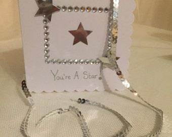You're a Star handmade card