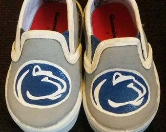 Penn State painted shoes