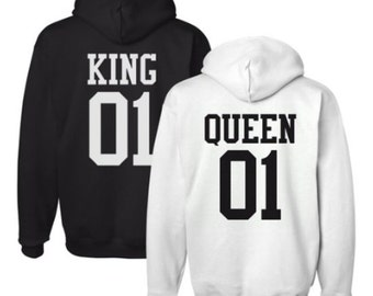KING & QUEEN lovers Hoodie