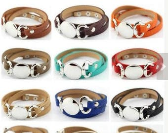 PRE-ORDER!! Blank Wrap Bracelets, Monogram Bracelet Blanks, Monogram Blanks, Vinyl Blanks Skinny Wrap Bracelets