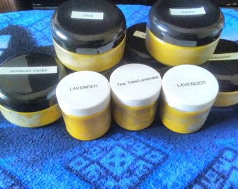 Natural Shea butter infused with essential oils