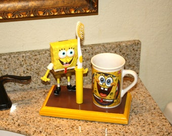 SpongeBob Squarepants Toothbrush Holder (#162)