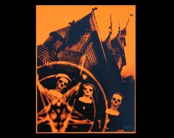 Church of Satan - One Color Screenprint