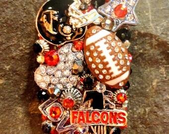 Atlanta Falcons Dog Tag Pendant