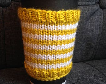 Sunshine Yellow Cup Cozy