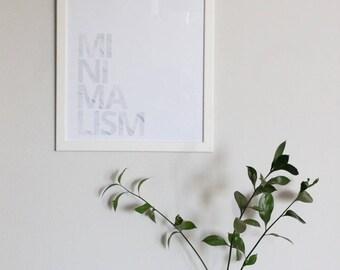 minimalism marble print