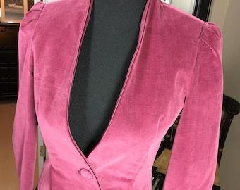 Vino De Casa Velvet 1970s Jacket