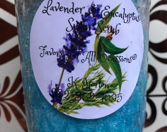 8 oz . Lavender and Eucalyptus