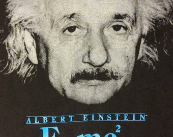 Vintage XL Albert Einstein t-shirt