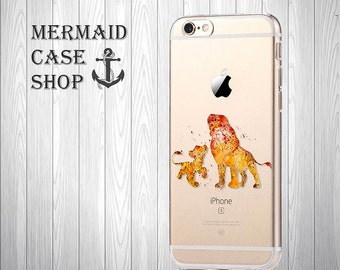 Lion iPhone 7 case  iPhone 7 disney case Lion iPhone 6 Case iPhone 6 disney Case/DC-09/133