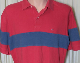 Vintage Tommy Hilfiger Polo Shirt Size XL Retro