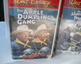 Child VHS Walt Disney, Dumpling, Apple Dumpling Gang Rides Again, Disney, VHS Classics, Disney Classic Comedy