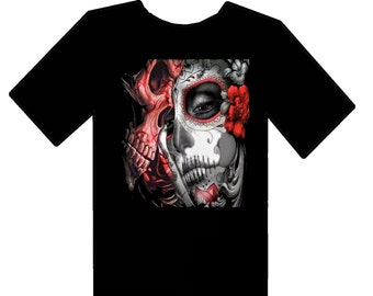 Custom day of the dead t shirt