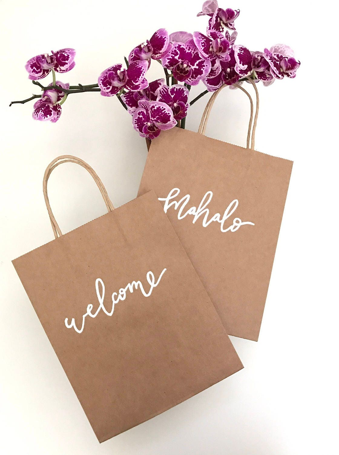 Custom gift bags destination wedding welcome bags thank you for Destination wedding gift bags